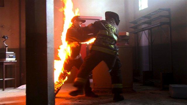 Hadley's Fiery Last Scene