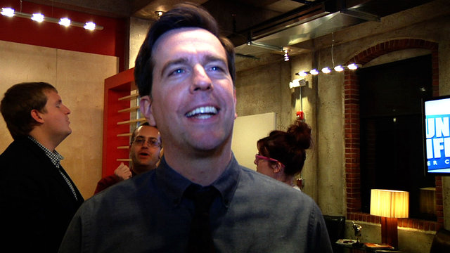 Ed Helms Talks About Andy