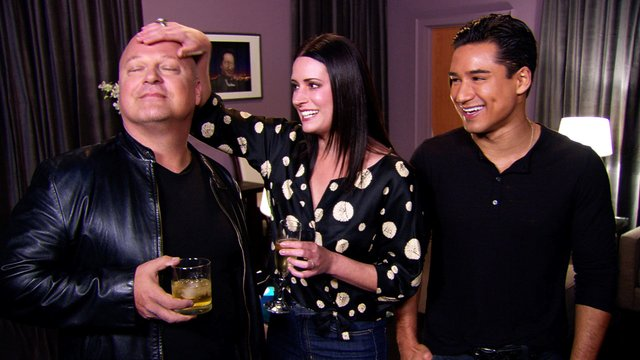 Michael, Paget and Mario Gear Up for Game Night