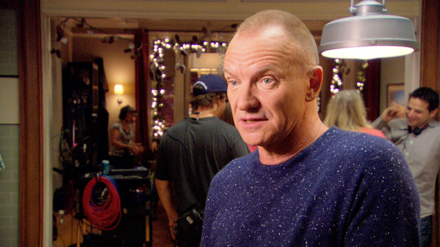 Sting on His Latest Project