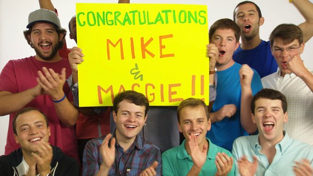 Congratulations, Mike and Maggie!