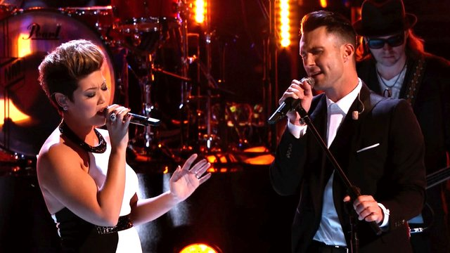 """Tessanne Chin and Adam Levine: """"Let It Be"""""""