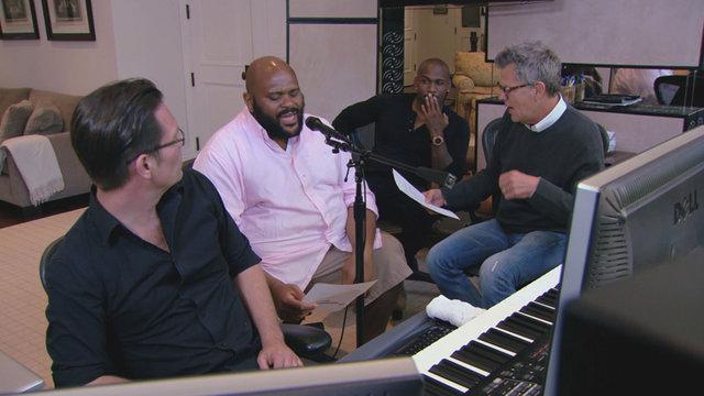 Ruben in the Studio