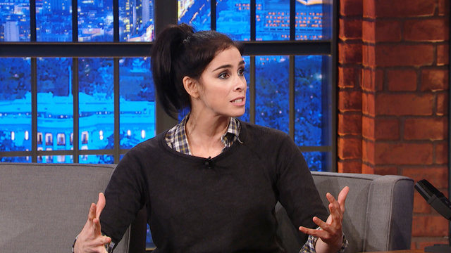 Sarah Silverman, Jake Tapper