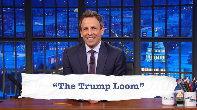 Seth Explains Teen Slang, D.C. Edition: Lincoln Memorial, Trump Loom