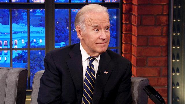 Vice President Joe Biden, Dr. Jill Biden, Sturgill Simpson