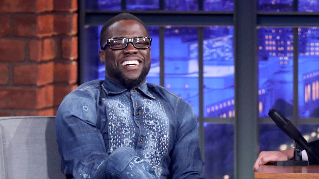 Kevin Hart Is a Busy Guy
