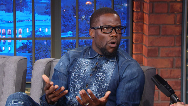 Kevin Hart Got Hit with a Chicken Wing During Stand-Up