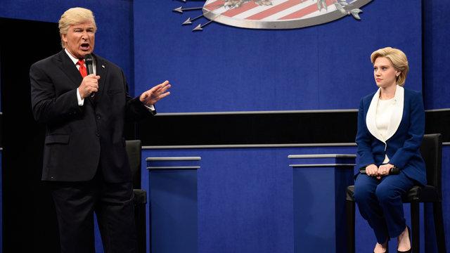 Donald Trump vs. Hillary Clinton Town Hall Debate Cold Open