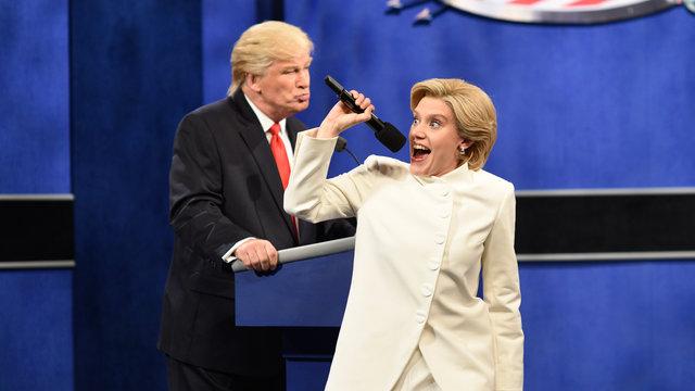 Donald Trump vs. Hillary Clinton Third Debate Cold Open