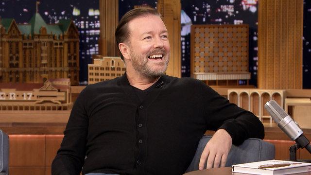 Ricky Gervais, Evan Rachel Wood, Michael Bublé