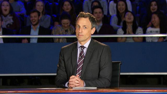 Late Night Presidential Debate