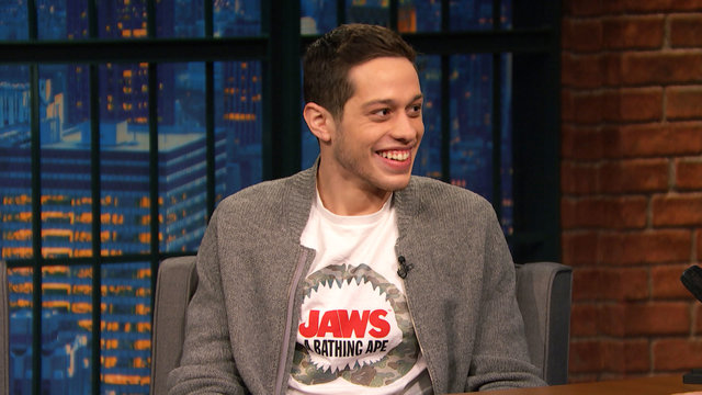 Pete Davidson Explains SMD