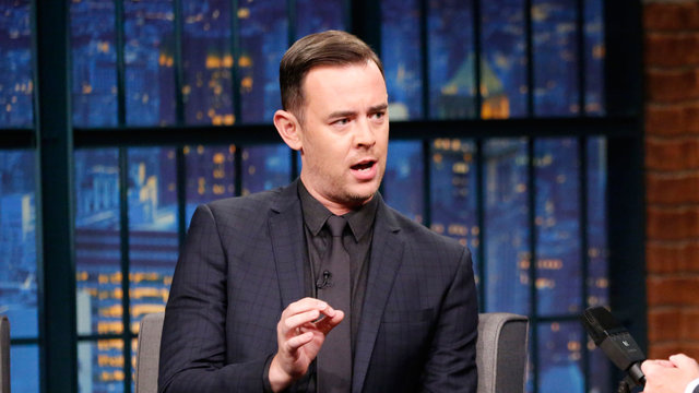 Colin Hanks Gives Seth Important Kids Halloween Costume Advice