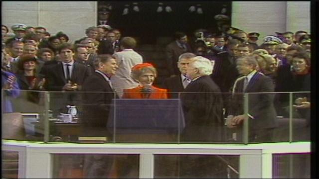 Inauguration 1981