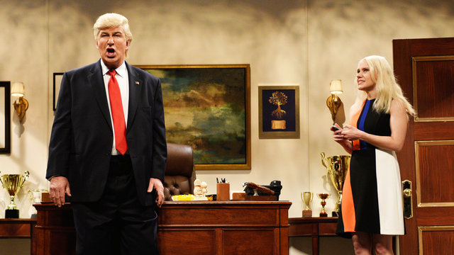 Donald Trump Prepares Cold Open