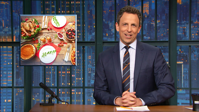 Average Americans Eat 3k Calories for Thanksgiving, Justin Bieber Punches a Fan - Monologue