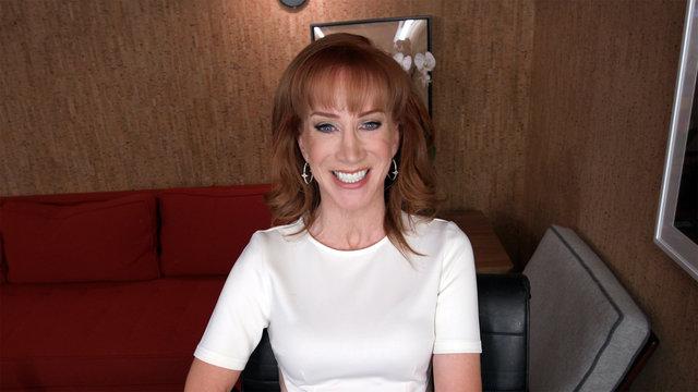 Kathy Griffin Prepares for a Trump Presidency