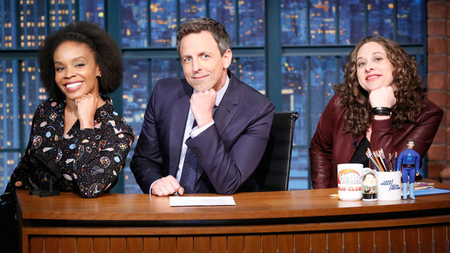 Jokes Seth Can't Tell: Mall of America's First Black Santa, Supergirl's Lesbian Sister