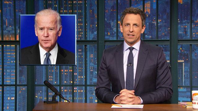 VP Joe Biden Might Run for Office 2020, Cleveland Cavaliers Boycott Trump Hotel - Monologue