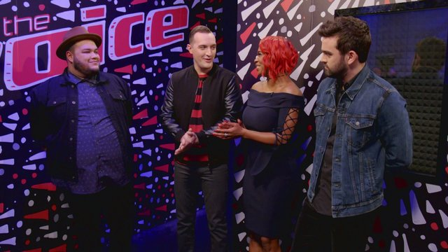 After the Elimination: Aaron, Ali, Brendan and Christian