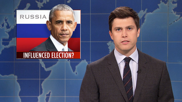 Weekend Update on Russia Interfering with the Election