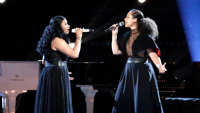 """Wé McDonald and Alicia Keys: """"Ave Maria"""""""