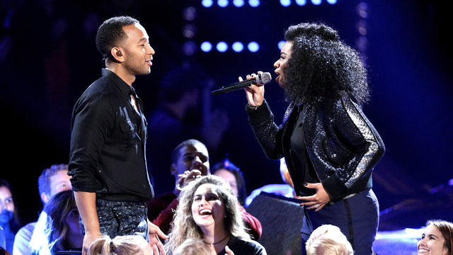 "Wé McDonald and John Legend: ""Love Me Now"""