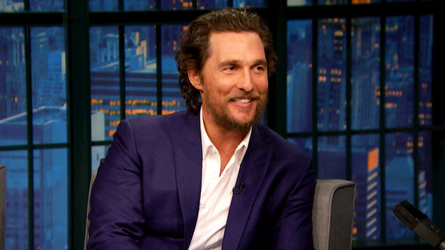 Matthew McConaughey, Mel B, Cameron Dallas