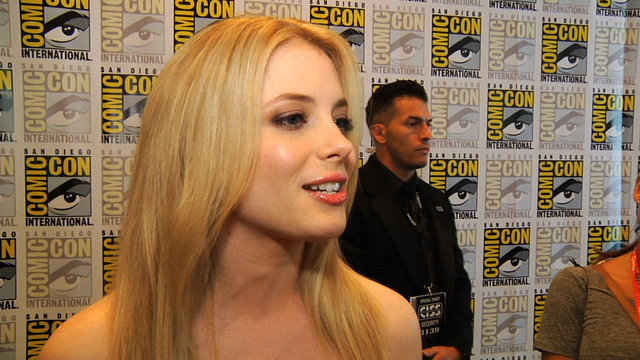Gillian Jacobs at Comic-Con