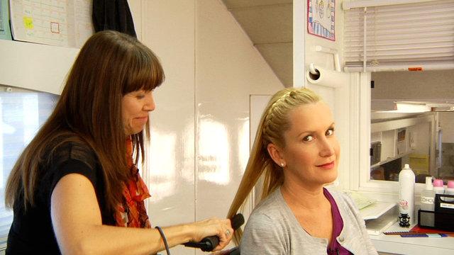 Braiding Angela's Hair