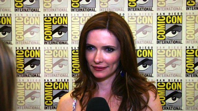 Bitsie Tulloch at Comic Con