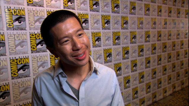 Reggie Lee at Comic-Con