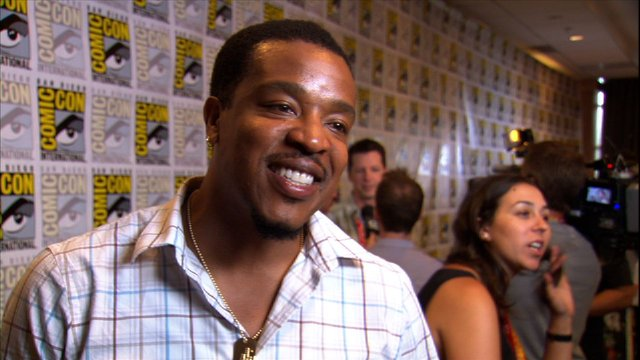 Russell Hornsby at Comic-Con