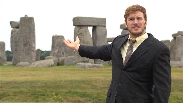 Andy at Stonehenge