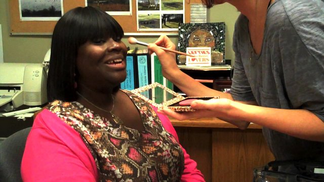 Backstage with Retta