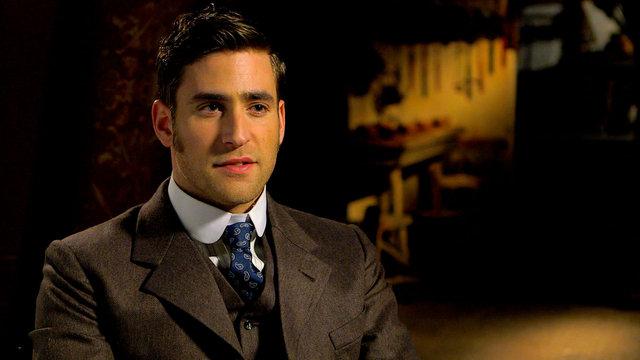 Oliver Jackson-Cohen Talks Dracula