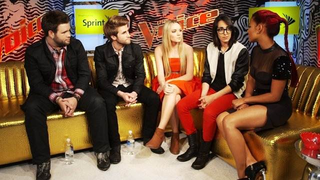 The Voice After Show Brought to You by Sprint