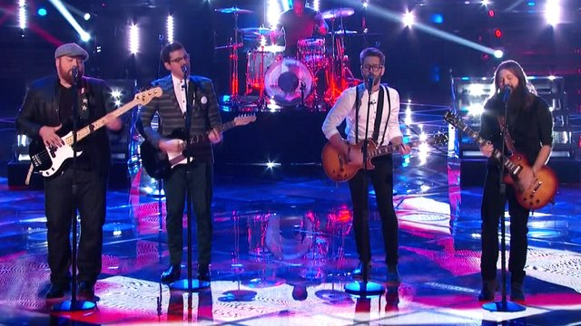 """The Men of The Voice: """"We're an American Band"""""""