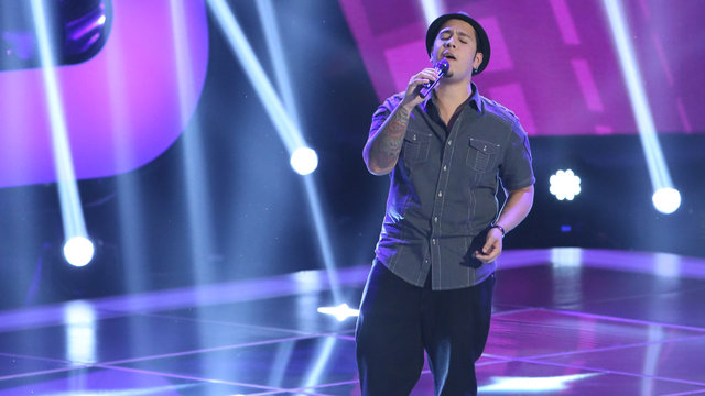 "Bryan Keith's Blind Audition: ""It Will Rain"""