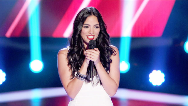 """Adriana Louise's Blind Audition: """"Domino"""""""