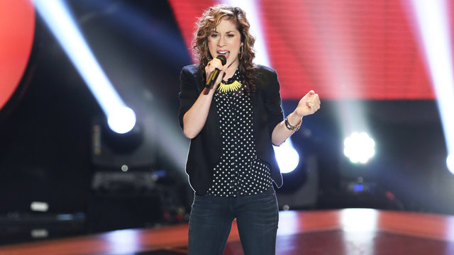 Lisa Scinta, MarissaAnn and Loren Allred's Blind Auditions