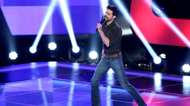 """Cody Belew's Blind Audition: """"Hard to Handle"""""""