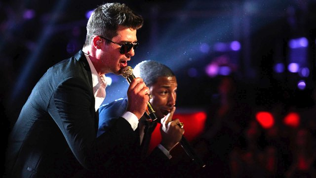 "Robin Thicke, Pharrell Williams and T.I.: ""Blurred Lines"""
