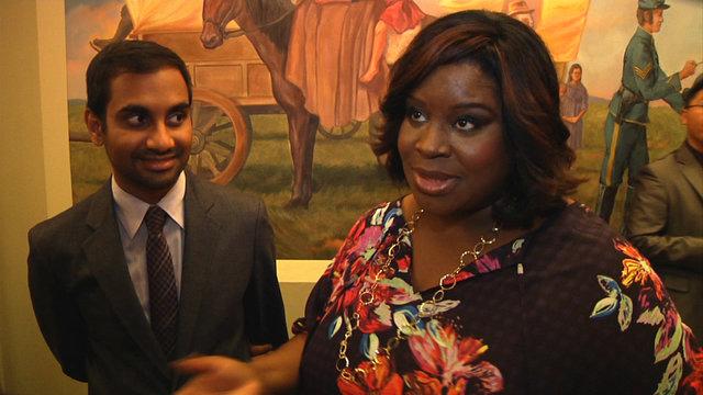 Aziz Ansari and Retta 100th Episode Interview