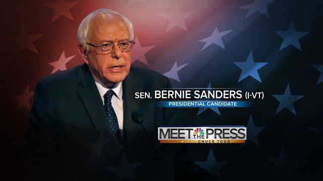 bernie sanders meet the press full episode