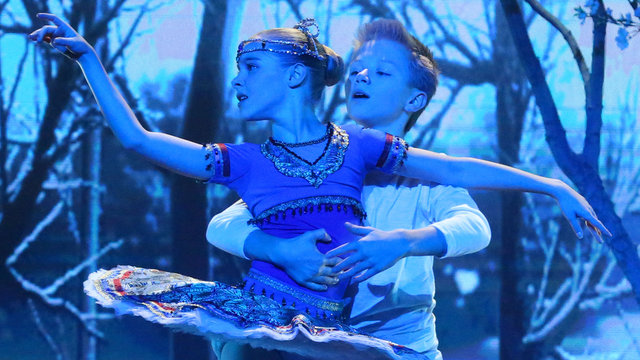 Jaw-Dropping Young Ballet Duo