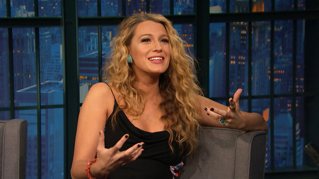 Blake Lively on Co-Starring with a Bird and a CGI Shark in The Shallows