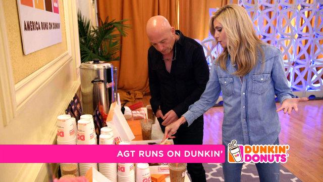 AGT Runs on Dunkin'