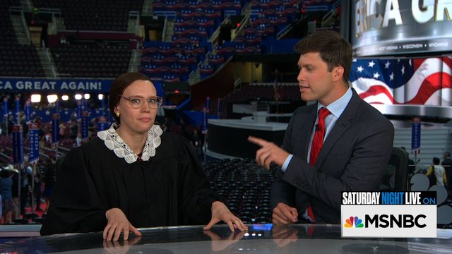 Weekend Update: Ruth Bader Ginsburg at the RNC